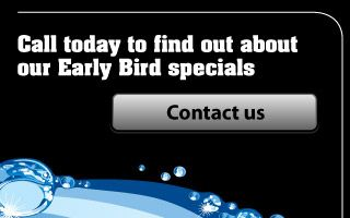 Call today to find out about our Early Bird specials - Contact us
